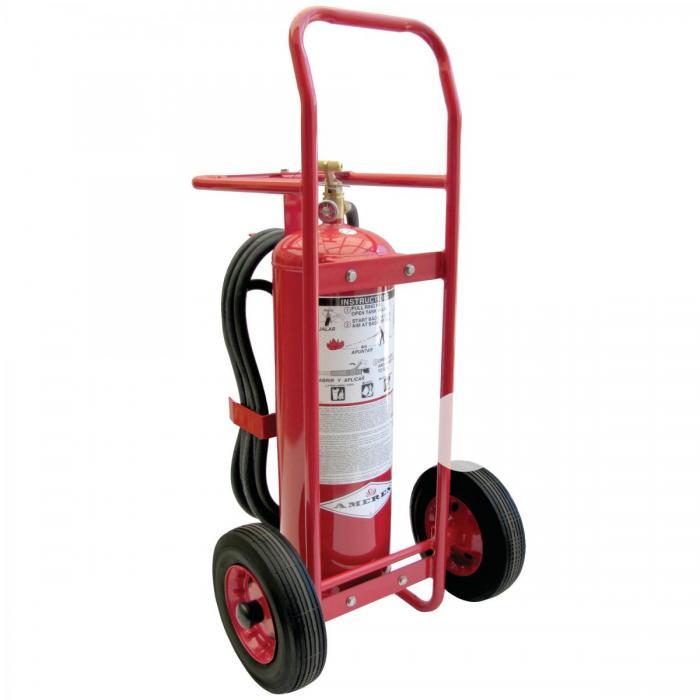 10.Extintores Rodantes - PRESIÓN ALMACENADA - 50LB