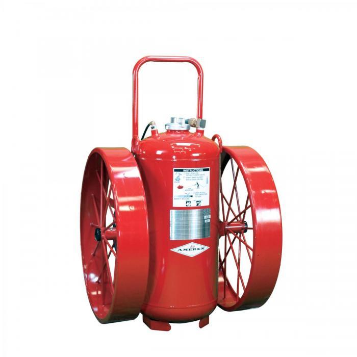 11.Extintores Rodantes – FUNCIONAMIENTO CON CILINDRO DE NITRÓGENO-350lb