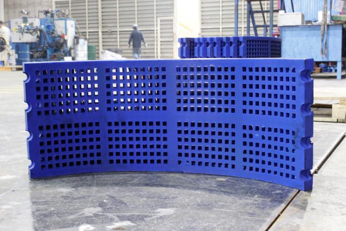 Fabricación de mallas de poliuretano